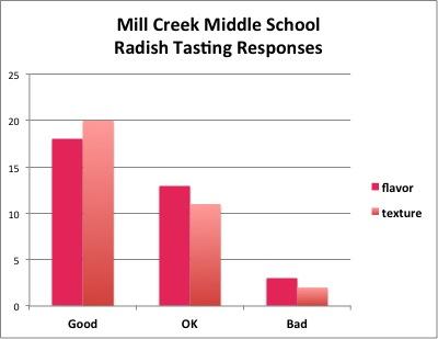 Mill Creek Radish Data