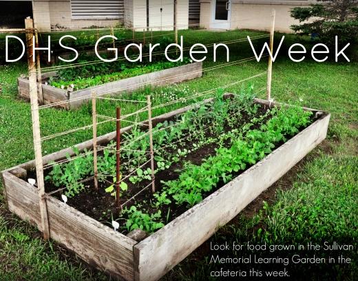 DHS Garden Week Poster