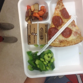 Student plate at Creekside