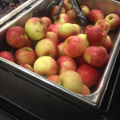 Dexter-grown apples at Creekside