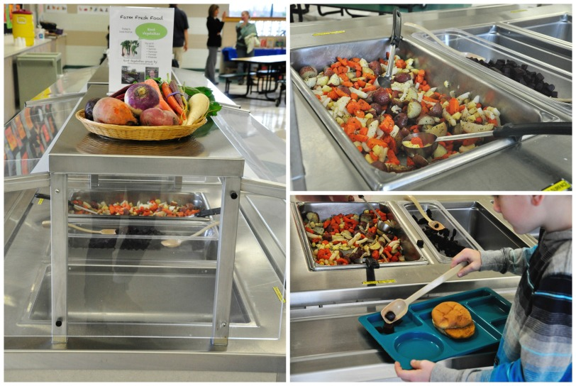 Root Vegetables at Cornerstone Elementary