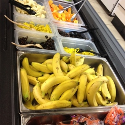salad bar at Wylie