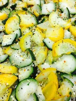 Summer squash and zucchini blend